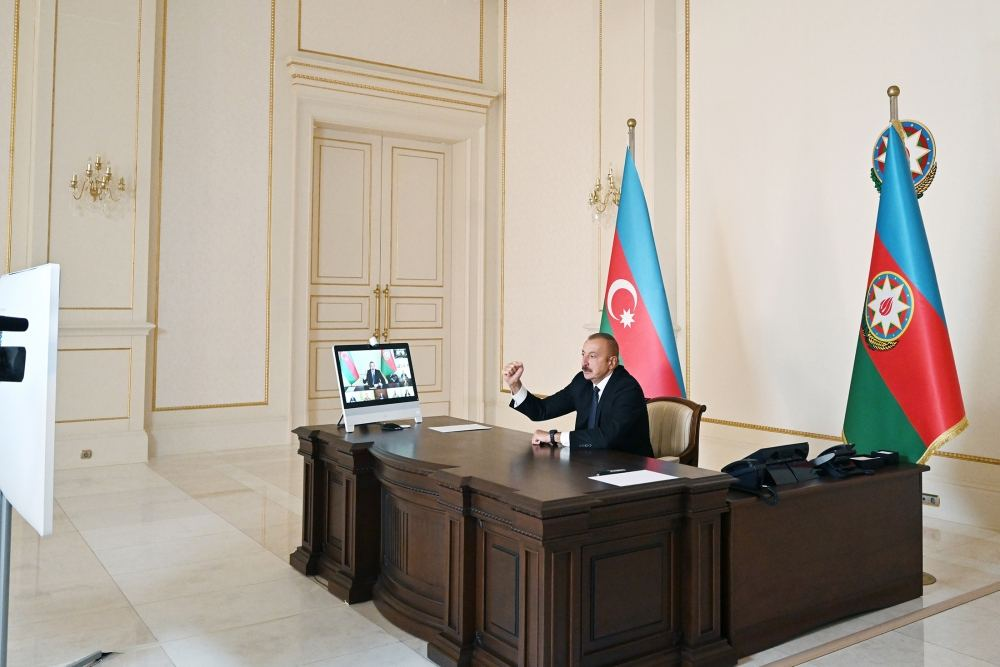 President Ilham Aliyev: I congratulate all people of Azerbaijan!