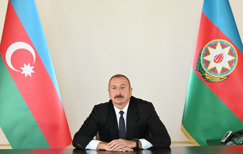 President Aliyev: Armenia plans to occupy Azerbaijani lands and does not conceal that