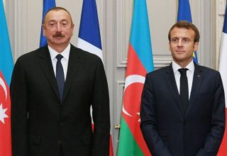 French president makes phone call to President Ilham Aliyev