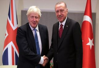 Erdogan, Johnson discuss bilateral developments over phone