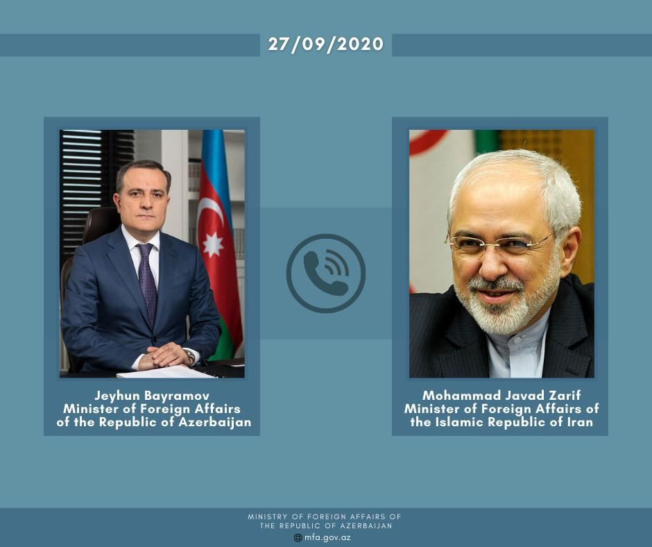 Foreign Ministers of Azerbaijan, Iran hold phone conversation