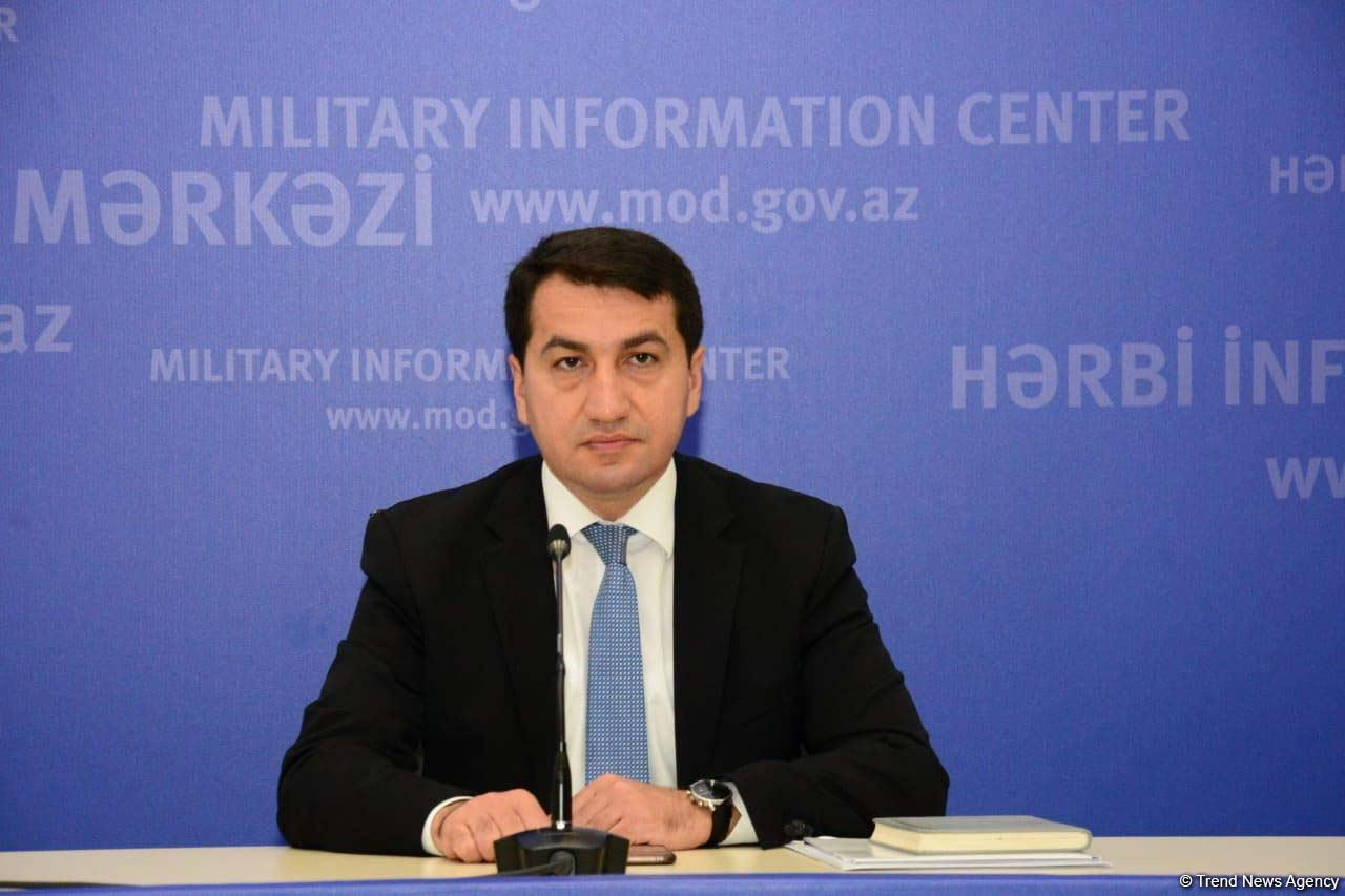 Assistant to Azerbaijan's President: Police department, town for IDPs in Tartar shelled