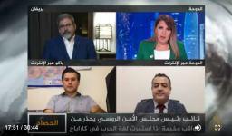 Trend News Agency's chief editor informs Arab world on Karabakh conflict via TV, radio programs (PHOTO/VIDEO) - Gallery Thumbnail