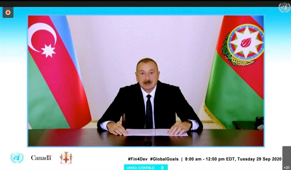 Azerbaijani president: Azerbaijan provided financial and humanitarian assistance to nearly 120 countries during last 15 years