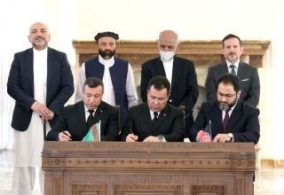 Solemn ceremony of signing number of important documents between Turkmenistan and Afghanistan takes place in Kabul (PHOTO)