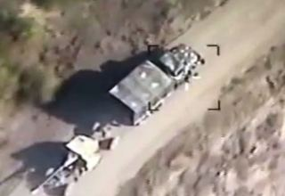 Azerbaijan discloses Armenia's military equipment taken out Sept. 30 (VIDEO)