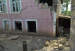 Armenian armed forces shell settlements of Azerbaijan's Fuzuli district (PHOTO)