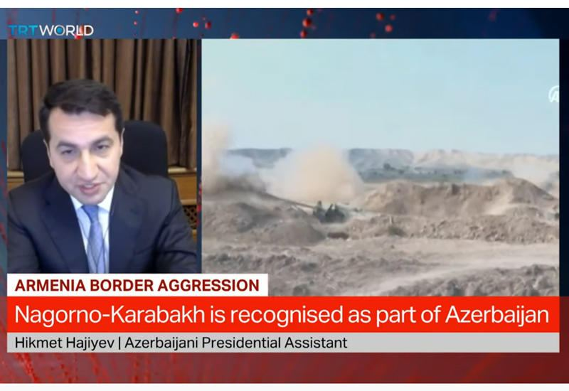 Assistant to president: No information in Azerbaijani radar system about Su-25 which took off from Armenia's territory