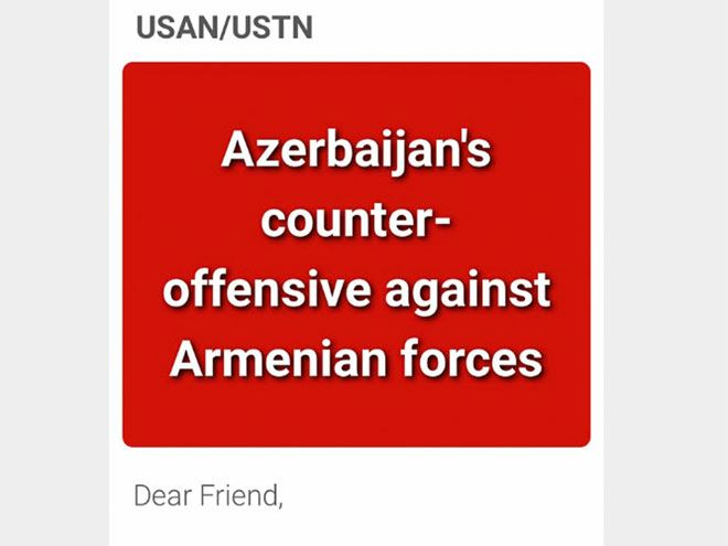 Azerbaijanis in US launch protest campaign against Armenian aggression