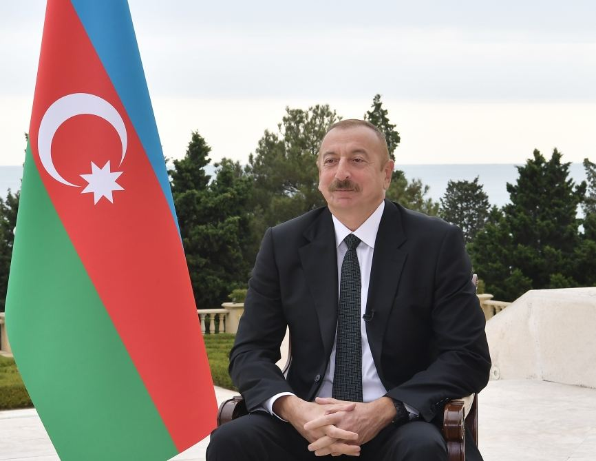 Azerbaijani president: Minsk group co-chairs were making requests to me that Azerbaijan show maybe more how to say understanding