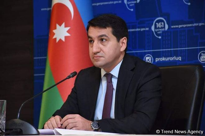 Conflict unleashed by Armenia continues, Armenia continues to attack Azerbaijani civilians, says assistant to Azerbaijani president