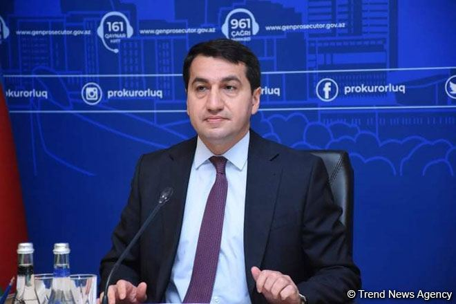 Cluster bomb attacks are new act of genocide against Azerbaijani people - President's aide
