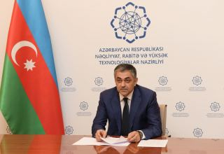 Azerbaijan's minister of transport meets UK ambassador