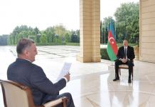 President Ilham Aliyev interviewed by TRT Haber TV channel (PHOTO) - Gallery Thumbnail