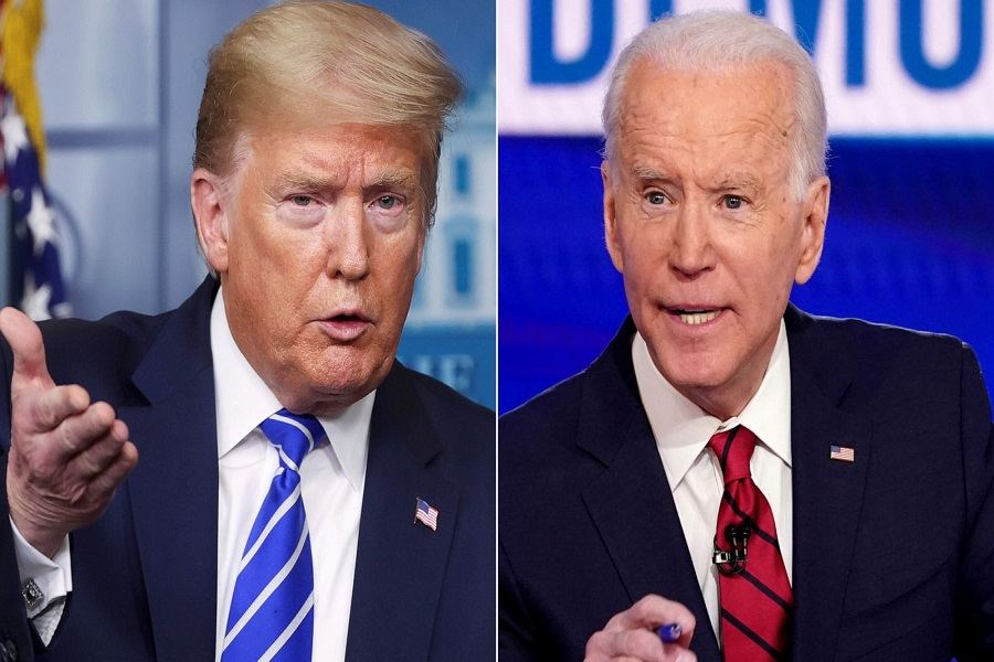 Trump derides doctors as COVID surges, Biden says Trump 'giving up' on virus