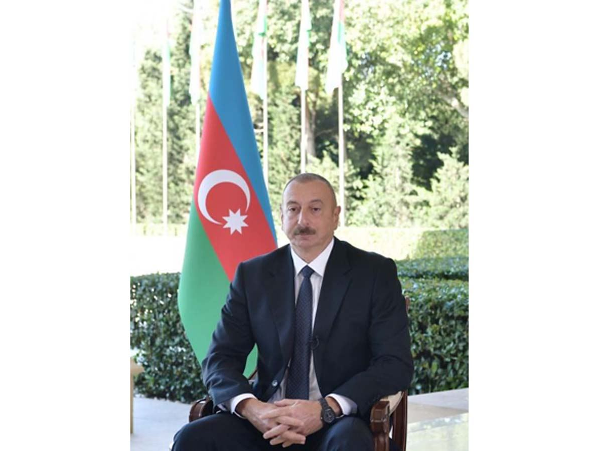 "Azerbaijani president: Words that ""Azerbaijan is not alone"" in people's letters coming from Turkey have, of course, further increased love of Turkey"