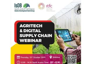 ITFC, IsDB in close collaboration with IsDB Group Business Forum to organize Webinar on AgriTech Digital Solutions