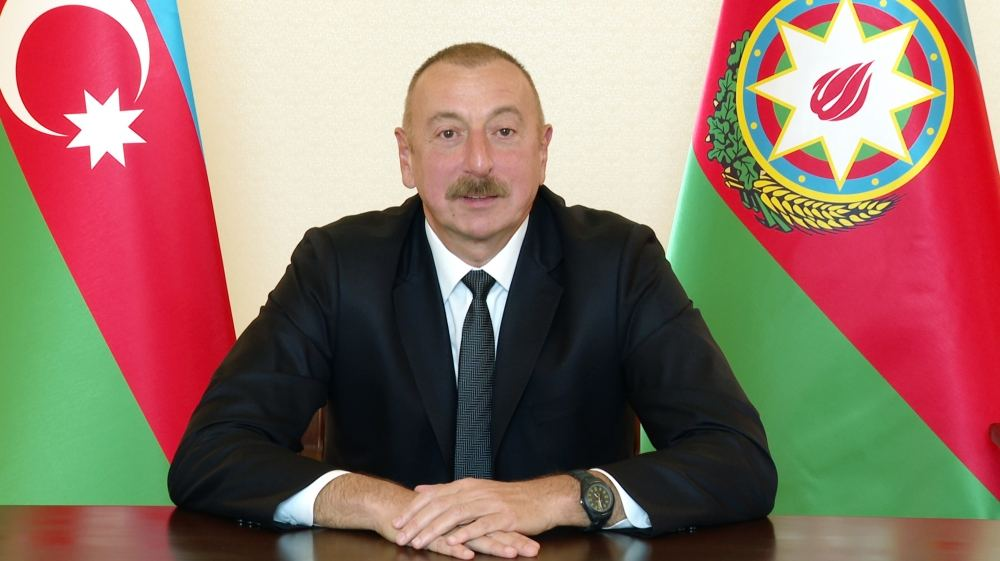 Azerbaijani president: Our goal - to defend our people, our country and our right to live on our land