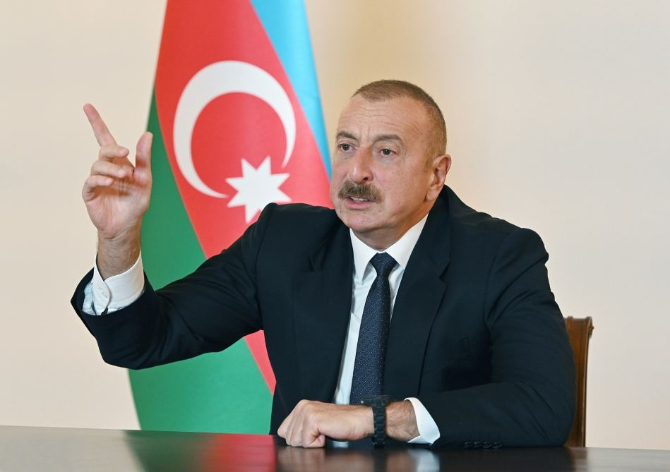 In July, we could easily move into the territory of Armenia and occupy lands - President Aliyev