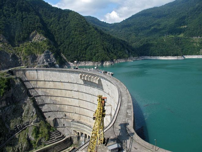 Georgian Enguri HPP to start producing electricity in early May 2021