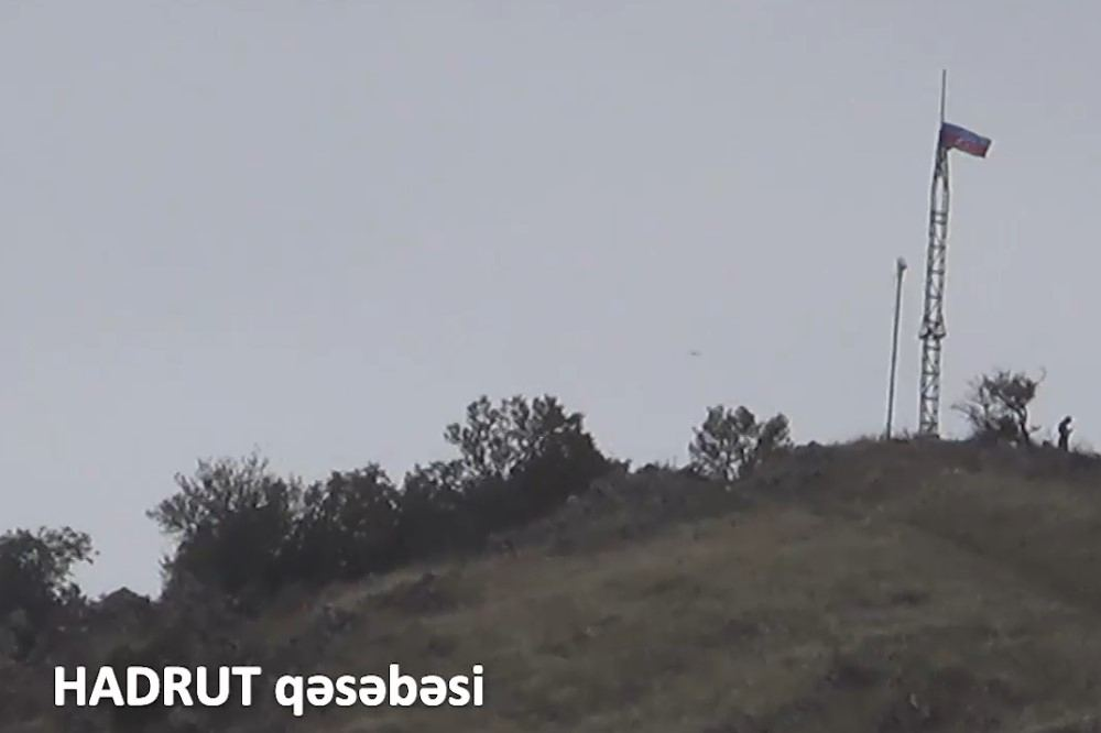 Azerbaijan shows Hadrut settlement liberated from occupation (VIDEO)