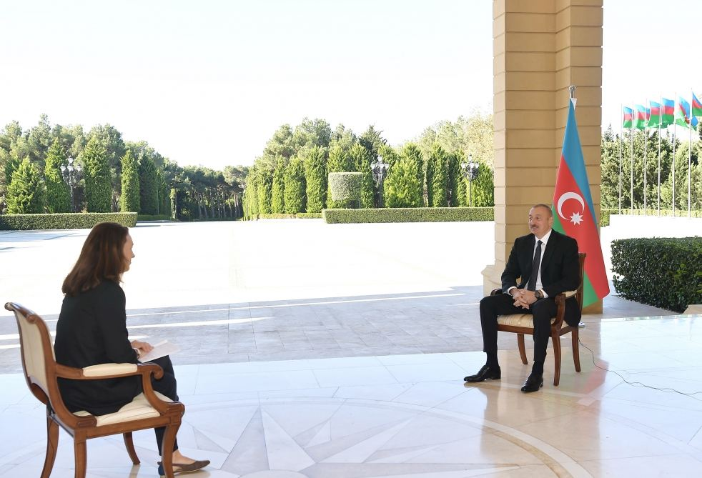 Azerbaijan doesn't have historical or religious targets - President Ilham Aliyev