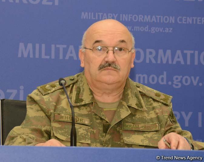 If Armenia's missile systems not destroyed, then these missiles could reach Baku - Azerbaijani MoD