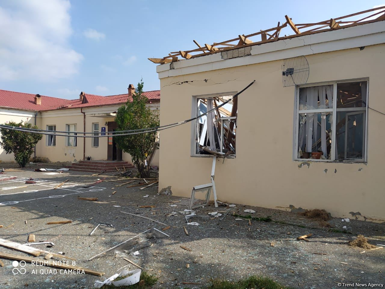 Azerbaijan names number of schools heavily damaged by Armenian shellings