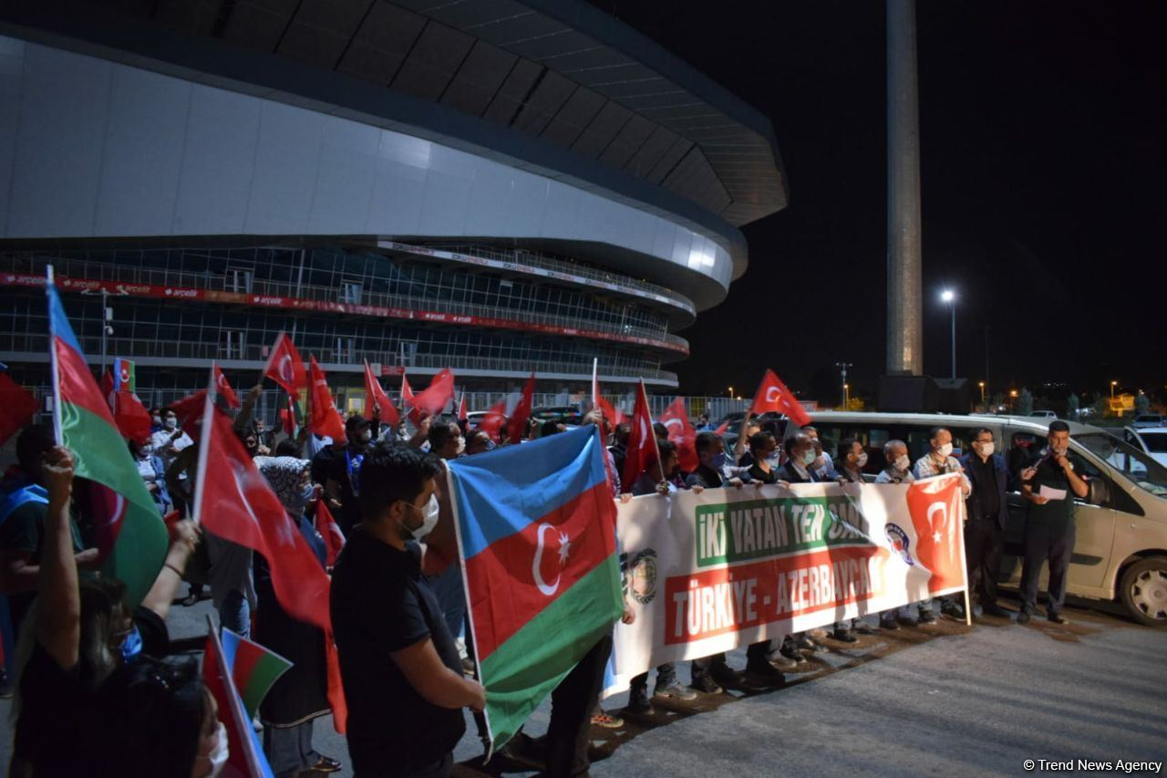 Rally held in Turkey in support of Azerbaijan (PHOTO) - Gallery Image