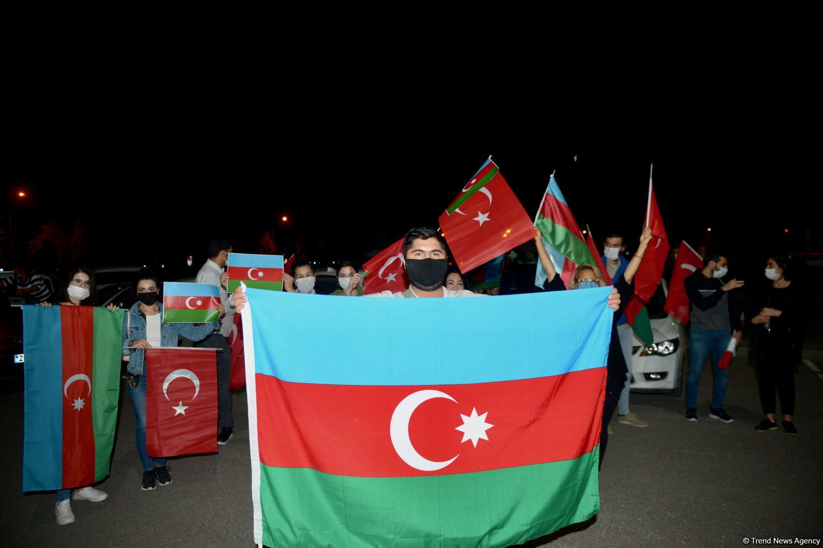 Rally held in Turkey in support of Azerbaijan (PHOTO)