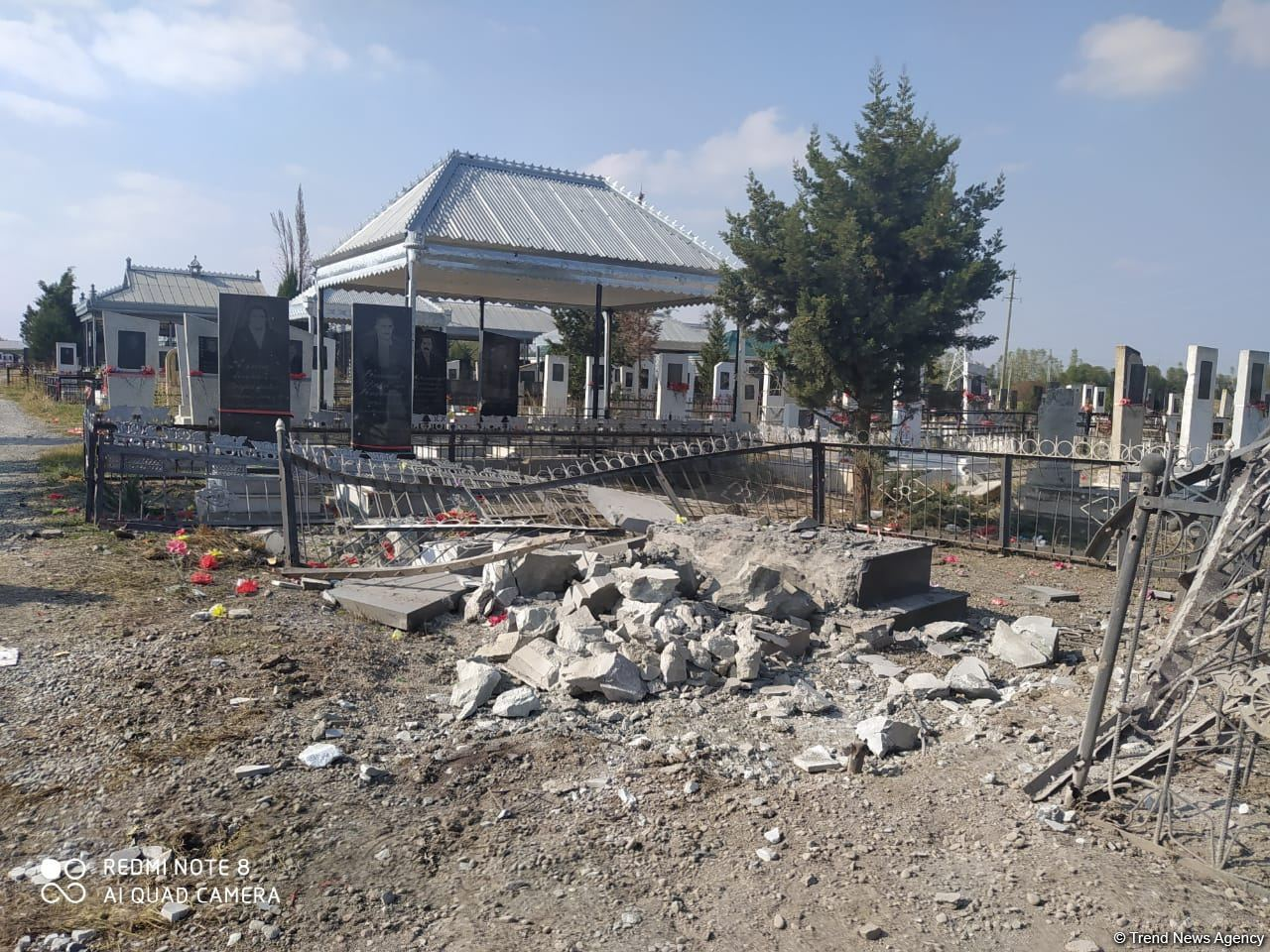 Death toll as result of deliberate shelling of cemetery in Azerbaijan's Tartar by Armenia increases (PHOTO) - Gallery Image