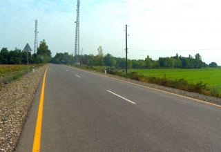 Road to three frontline villages of Aghdam reconstructed (PHOTOS)