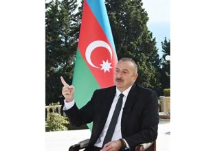 Vast majority of villages around Fuzuli are with us, says Azerbaijani president
