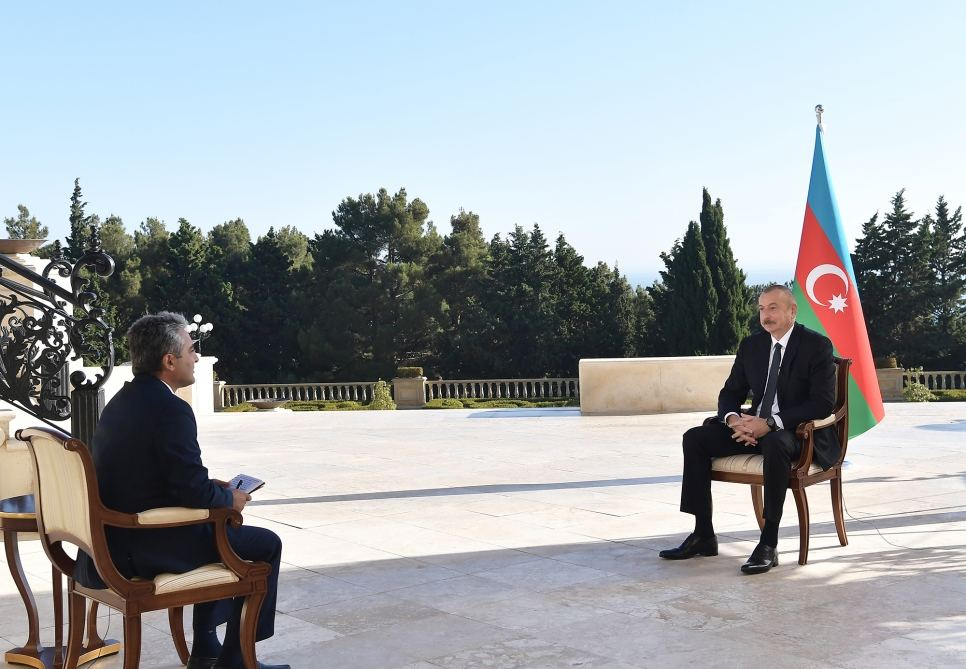 There are people with Canadian and Lebanese passports among those who were killed on Armenian side, says Azerbaijani president