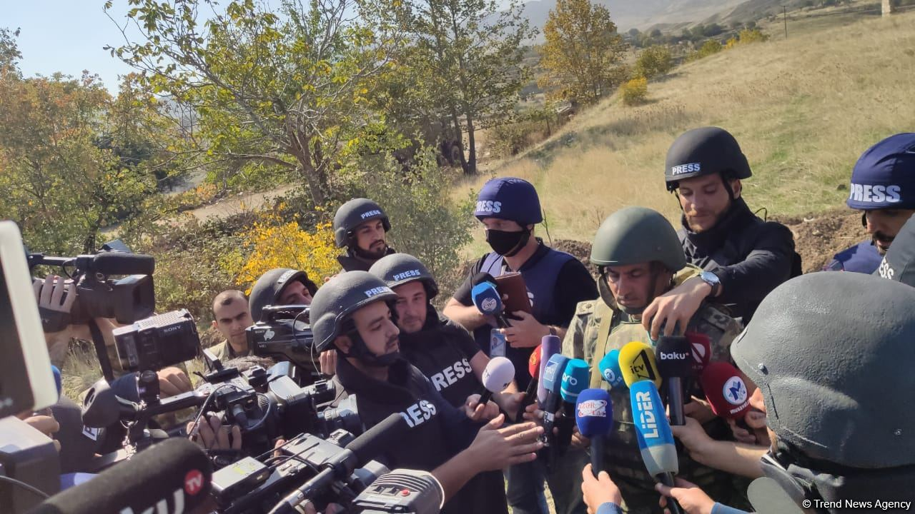 Azerbaijani army continues successful operations to liberate its lands - colonel (PHOTO)