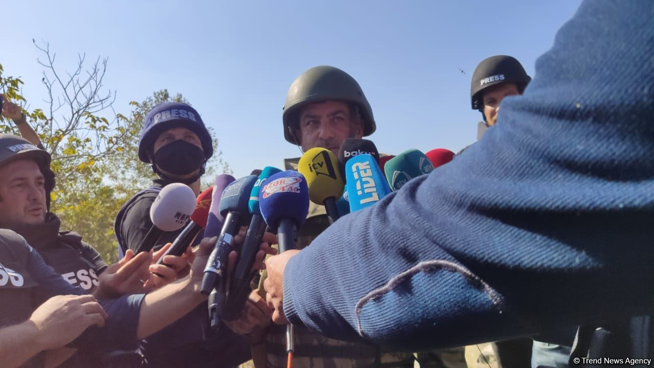 Azerbaijani army continues successful operations to liberate its lands - colonel (PHOTO) - Gallery Image