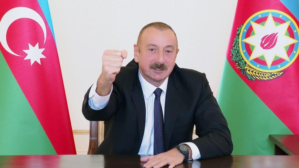 Prezident İlham Əliyev: Şanlı Azərbaycan Ordusu öz xilaskarlıq missiyasını uğurla davam etdirir