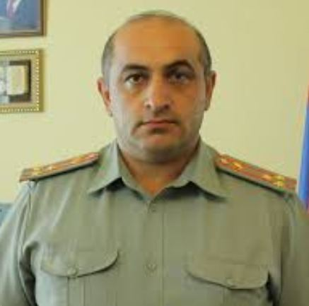 Colonel of Armenian Armed Forces,  head of engineering service neutralized