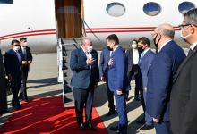 Chairman of Grand National Assembly of Turkey arrives on official visit to Azerbaijan (PHOTO) - Gallery Thumbnail