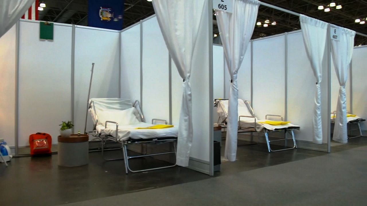 Poland starts to build first field hospital for COVID-19 patients