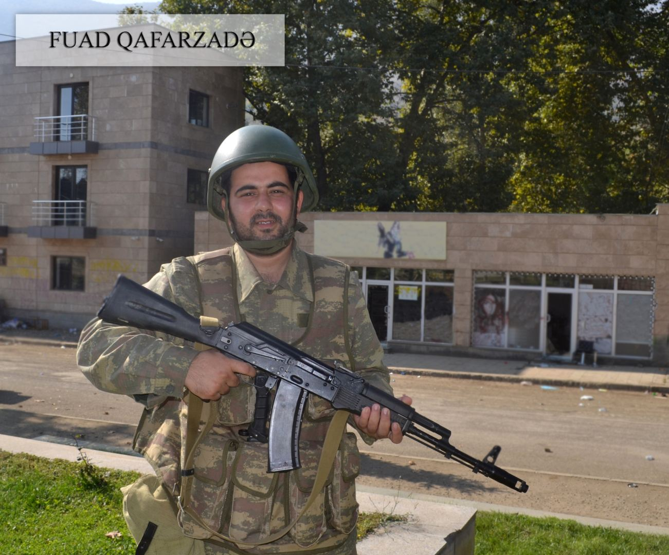 Azerbaijani MoD shows soldiers who liberated Hadrut from Armenian occupation (PHOTO) - Gallery Image