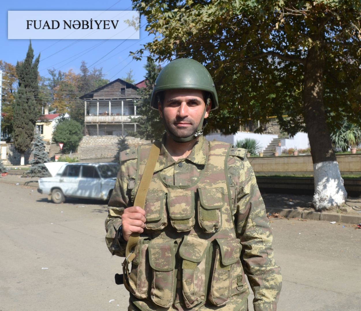 Azerbaijani MoD shows soldiers who liberated Hadrut from Armenian occupation (PHOTO)