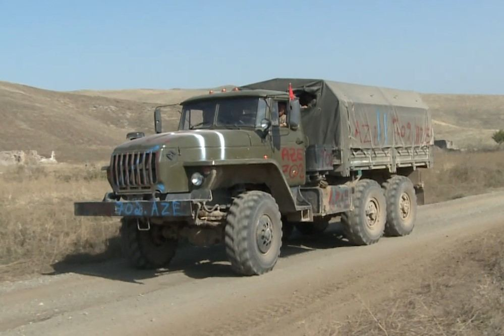 Military trophies captured by Azerbaijani army in Jabrail and Fuzuli direction (VIDEO)