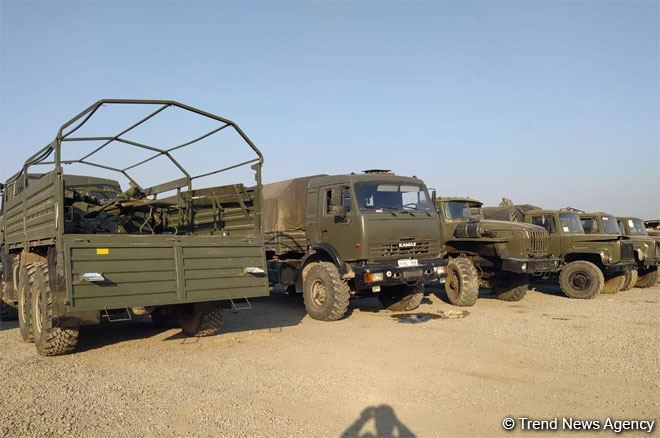 Azerbaijani army seizes more military equipment of Armenian armed forces on battlefield (PHOTO)