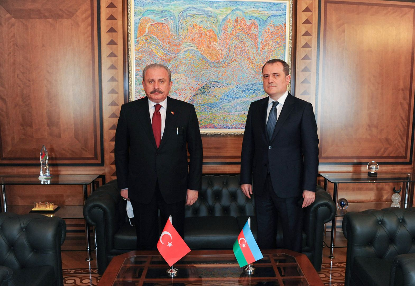 Azerbaijani FM meets with speaker of Turkish Grand National Assembly (PHOTO) - Gallery Image