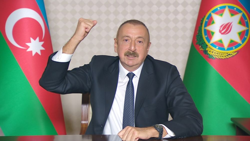 Victorious Azerbaijani Army gaining new victories on battlefield, says Azerbaijani president