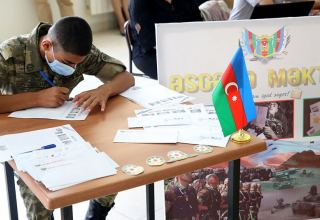 """Letter to soldier"" project held for personnel of Azerbaijani Armed Forces participating in battles"