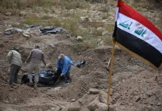 Iraqi security forces find 50 bodies in mass grave in Kirkuk