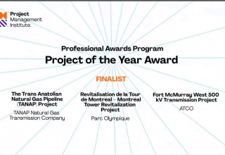 TANAP named Project of the Year by US-based PMI