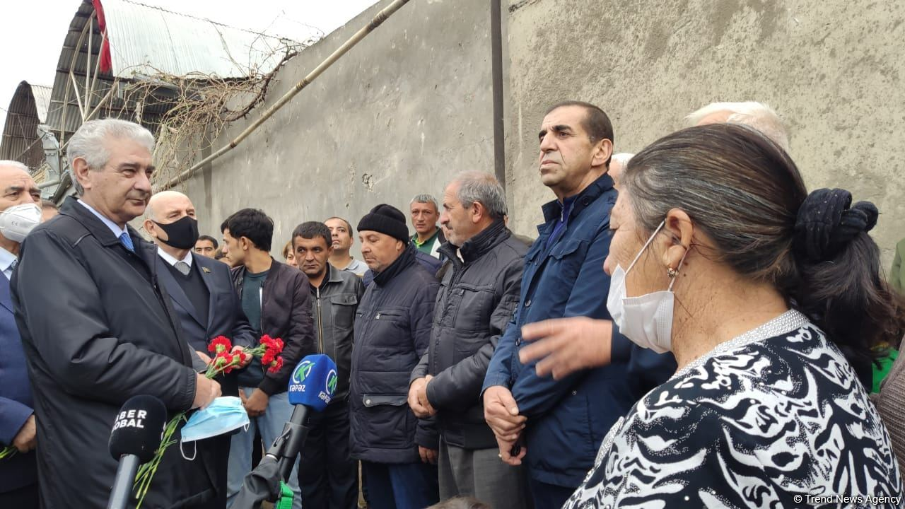Azerbaijan to issue support for children who lost parents after Armenia's Ganja attack (PHOTO) - Gallery Image